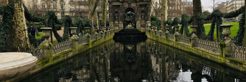 Jardines de Luxemburgo, París, Isla de Francia, Francia