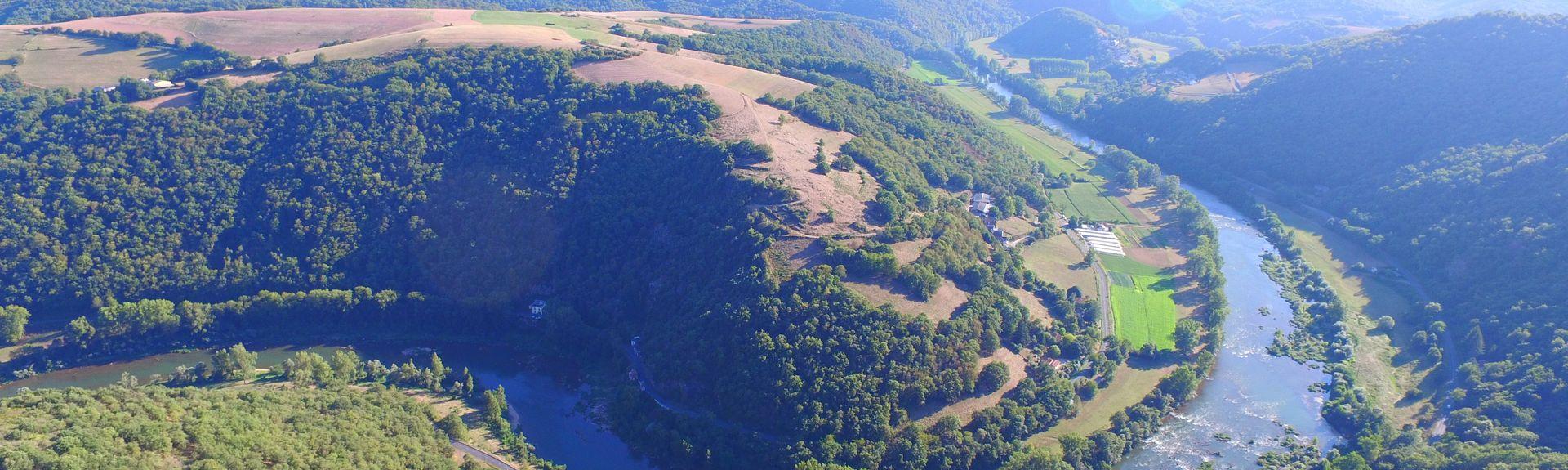 Connac, Aveyron, Frankreich