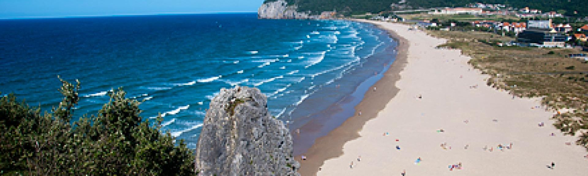 Orinon Beach, Laredo, Spain