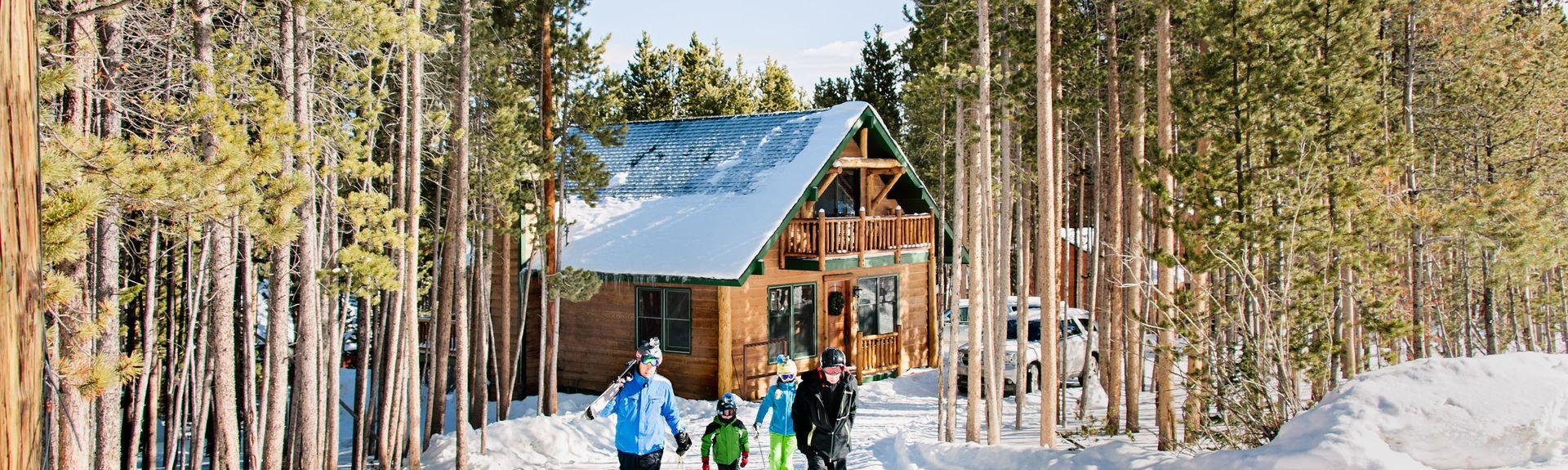Station de ski de La Plagne 1800, La Plagne-Tarentaise, Savoie (département), France