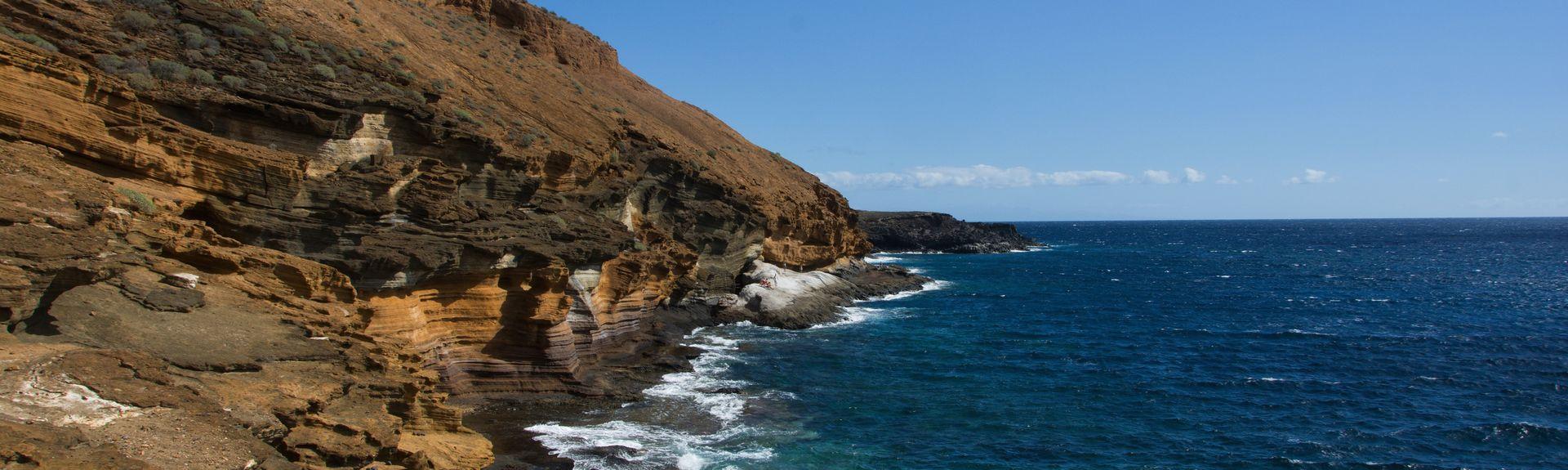 Troya Strand, Playa de las Americas, De Kanariske Øer, Spanien