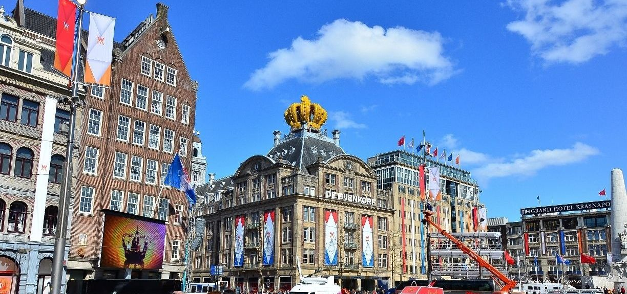 Dam Square, Amsterdam, North Holland, Netherlands