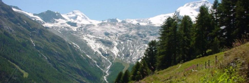 Saas-Fee, Valais, Schweiz