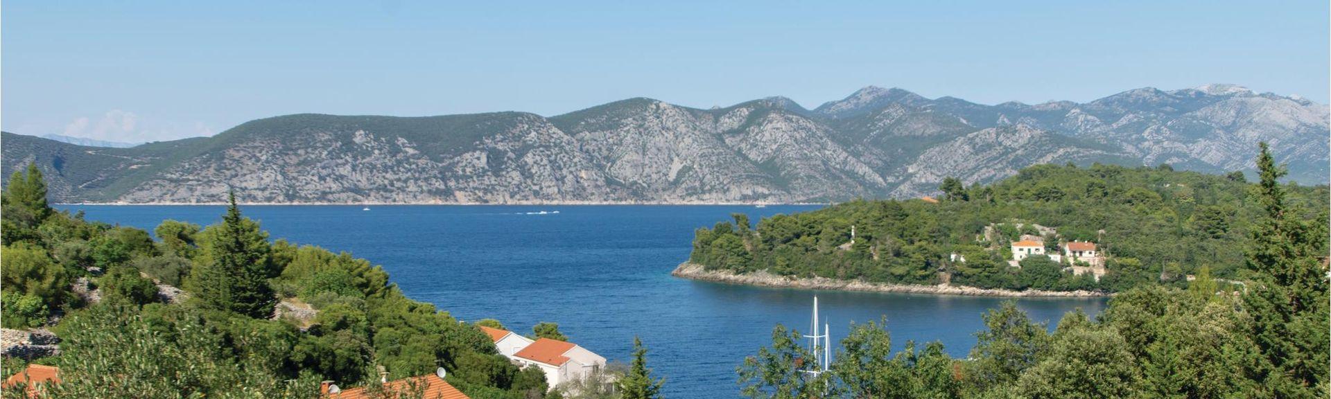 Brna, Smokvica, Comitat de Dubrovnik-Neretva, Croatie