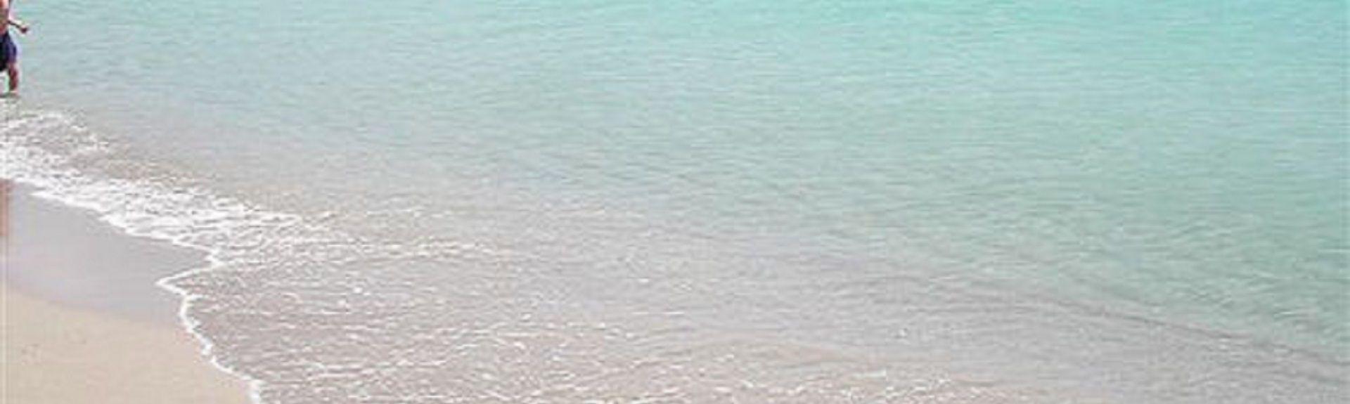 Cavalli Beach, Marina di Mancaversa, Apulien, Italien