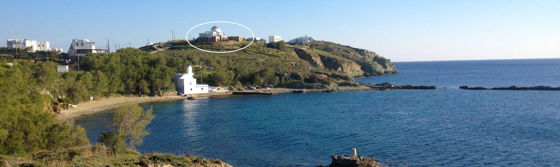 Strand von Elia, Elia, Ägäische Inseln, Griechenland