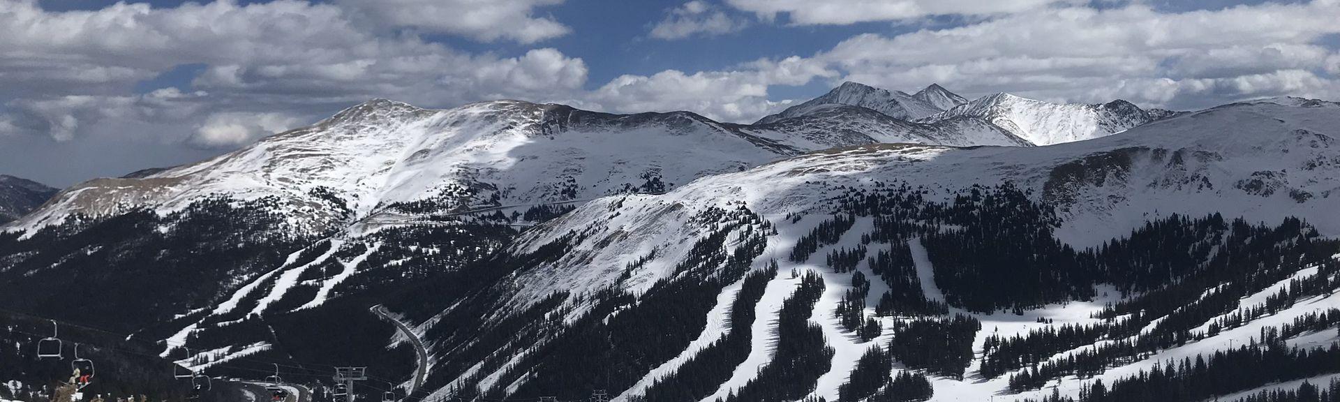 Front Range, Arapaho National Forest, Colorado, USA