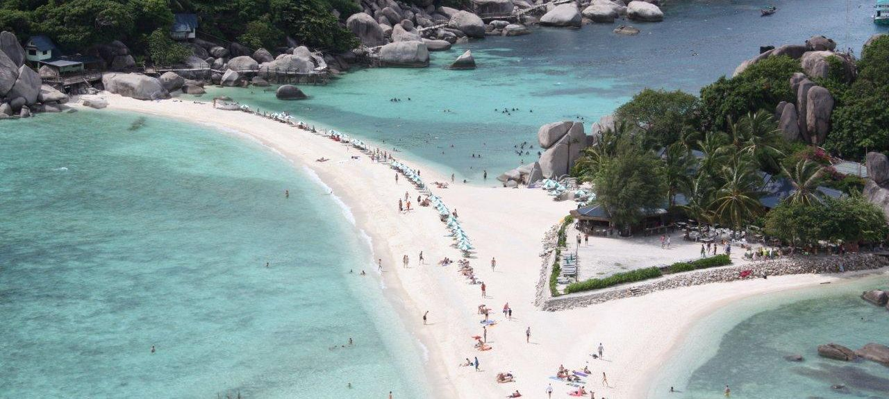 Plaża Sai Nuan, Ko Tao, Prowincja Surat Thani, Tajlandia
