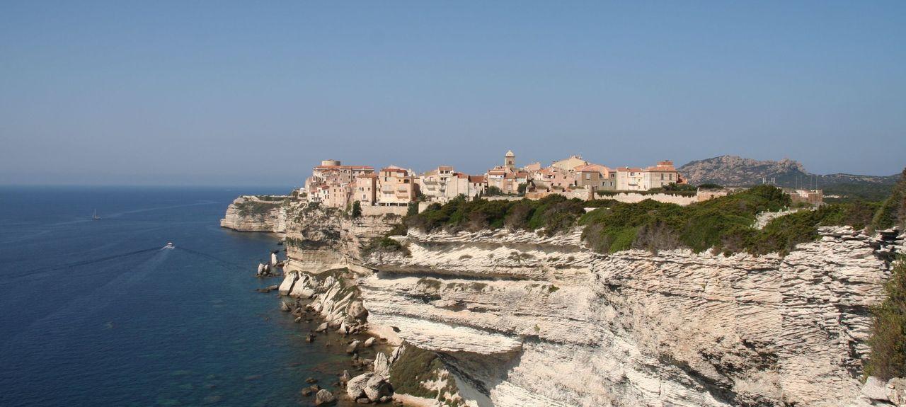 Bonifacio Zitadelle, Bonifacio, Korsika, Frankreich