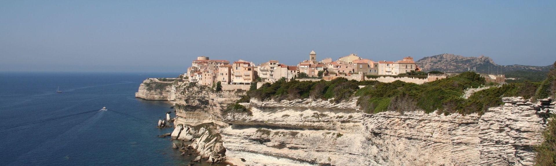 Bonifacio Citadel, Bonifacio, Corse-du-Sud, France