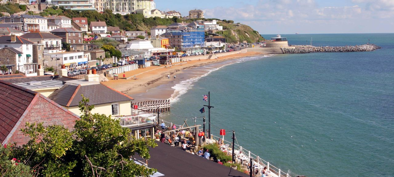 Ventnor, Isle of Wight, UK