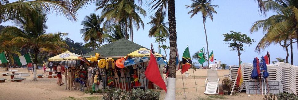 Maracas Beach, San Juan-Laventille, Trinidad e Tobago