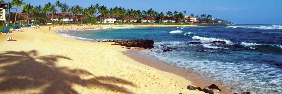 Poipu Beach, Koloa, Hawaii, Stati Uniti d'America