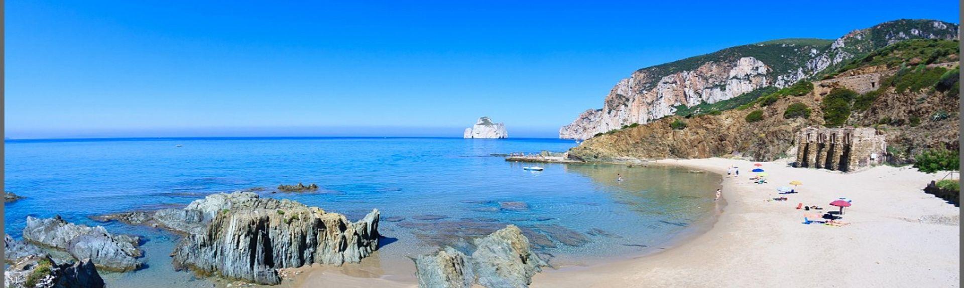Carloforte, Sardinien, Italien
