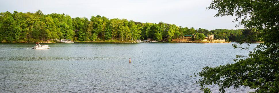 Lago Keowee, Salem, Carolina del Sur, Estados Unidos