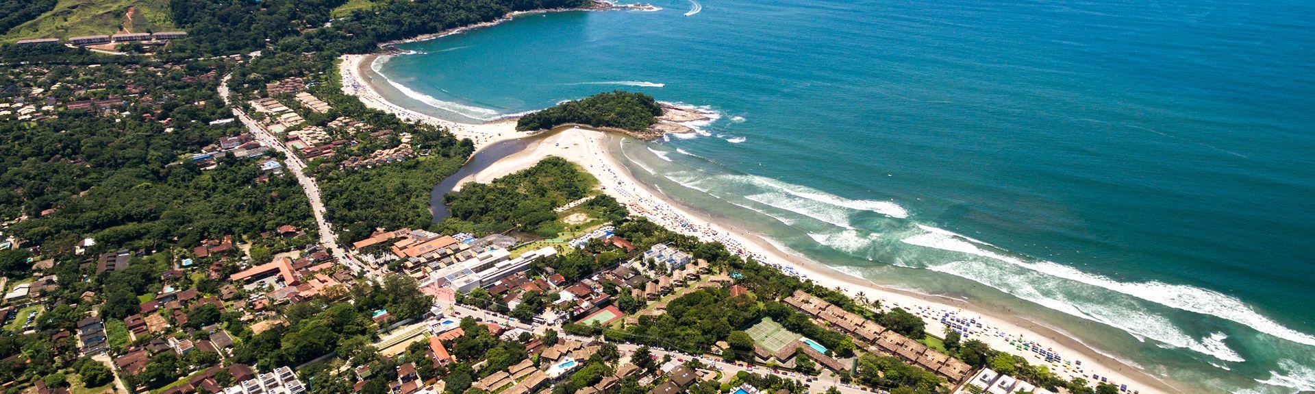 Camburi, São Sebastião, Région Sud-Est, Brésil