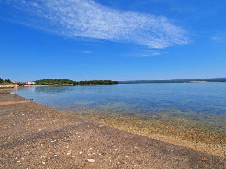 Primosten-stranden, Primo��ten Burnji, Šibenik-Knins län, Kroatien