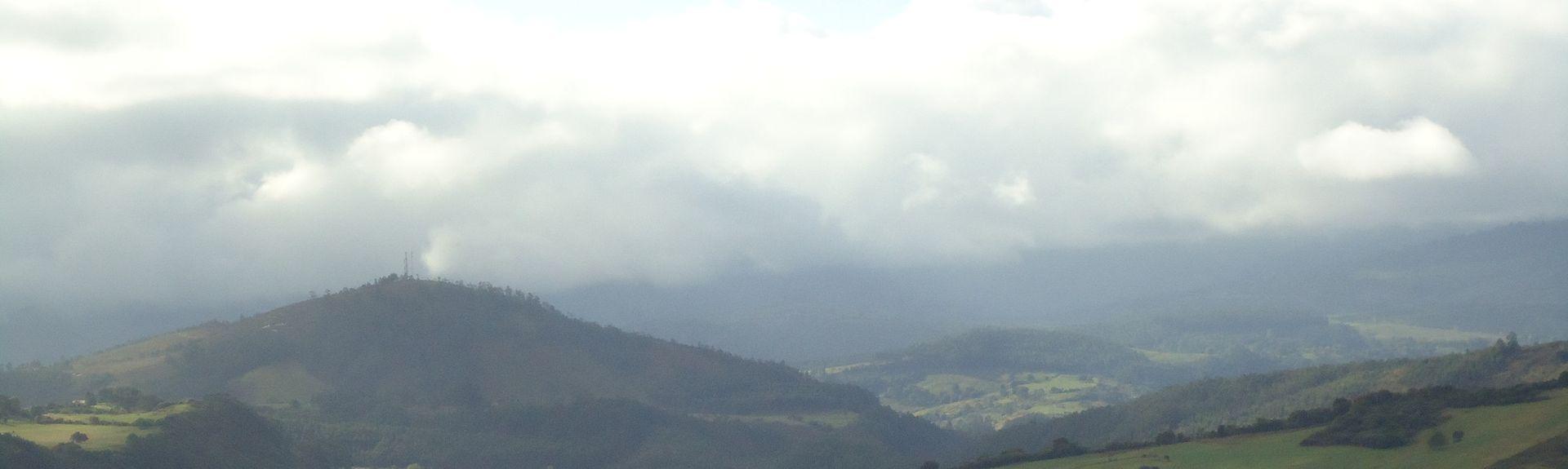 Cabezon de la Sal, Cantabrien, Spanien