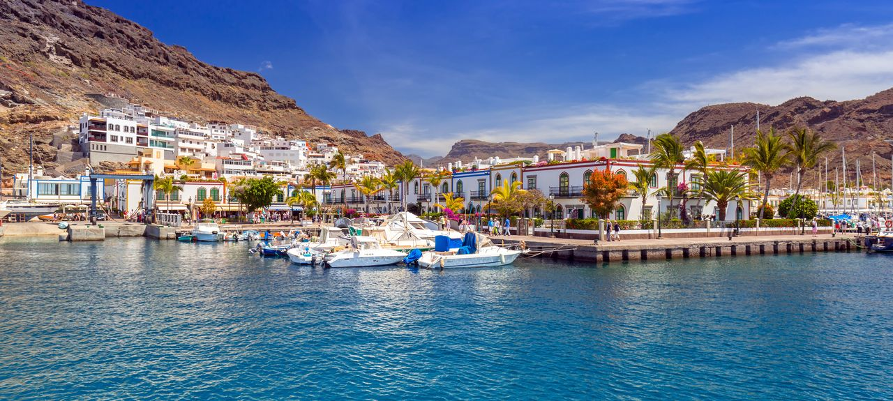 Puerto de Mogán, Lomo Quiebre, Las Palmas, Spain