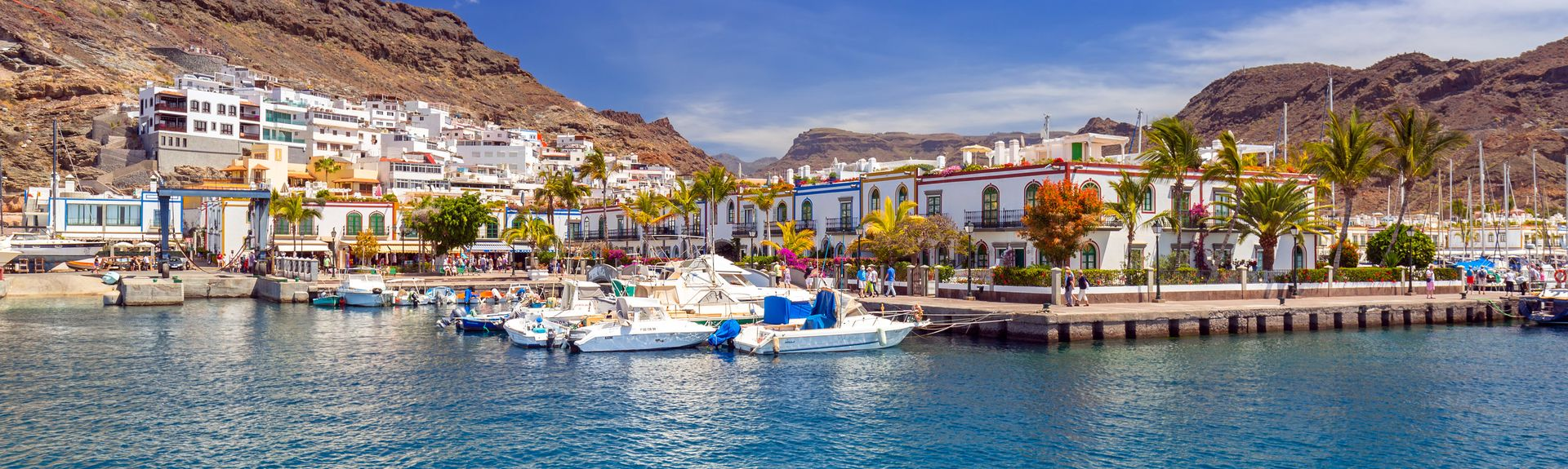 Puerto de Mogan, Mogan, Canary Islands, Spain