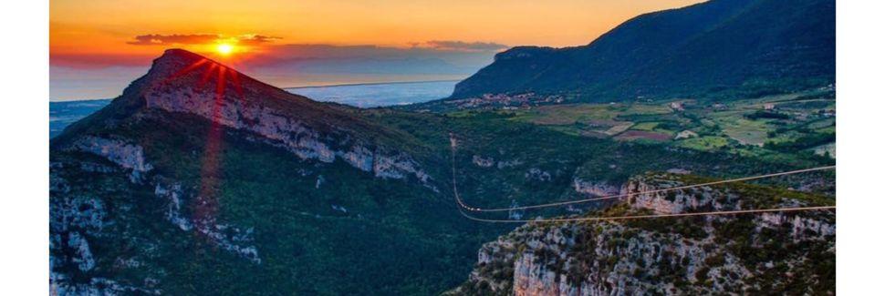 Cilento e Vallo di Diano Nationaal Park, Piaggine, Campania, Italië