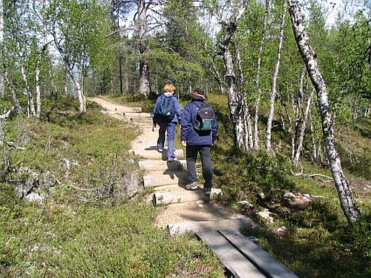 Saariselkä, Lappland, Finnland