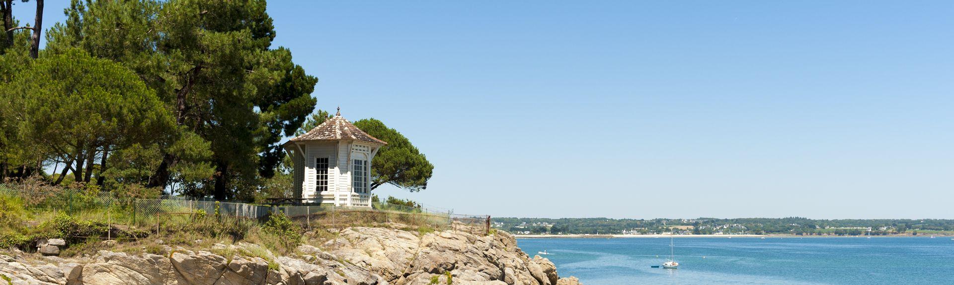 Beg Meil, Fouesnant, Département du Finistère, France