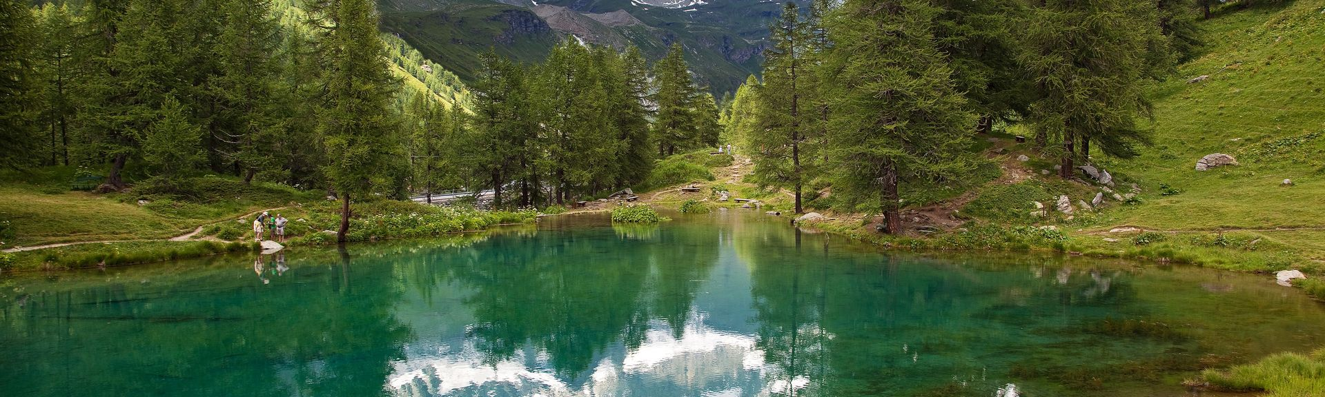 Cervinia, Valle d'Aosta, Italië