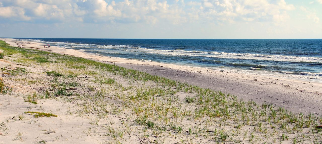 Gulf Beach, Perdido Key, Floride, États-Unis d'Amérique