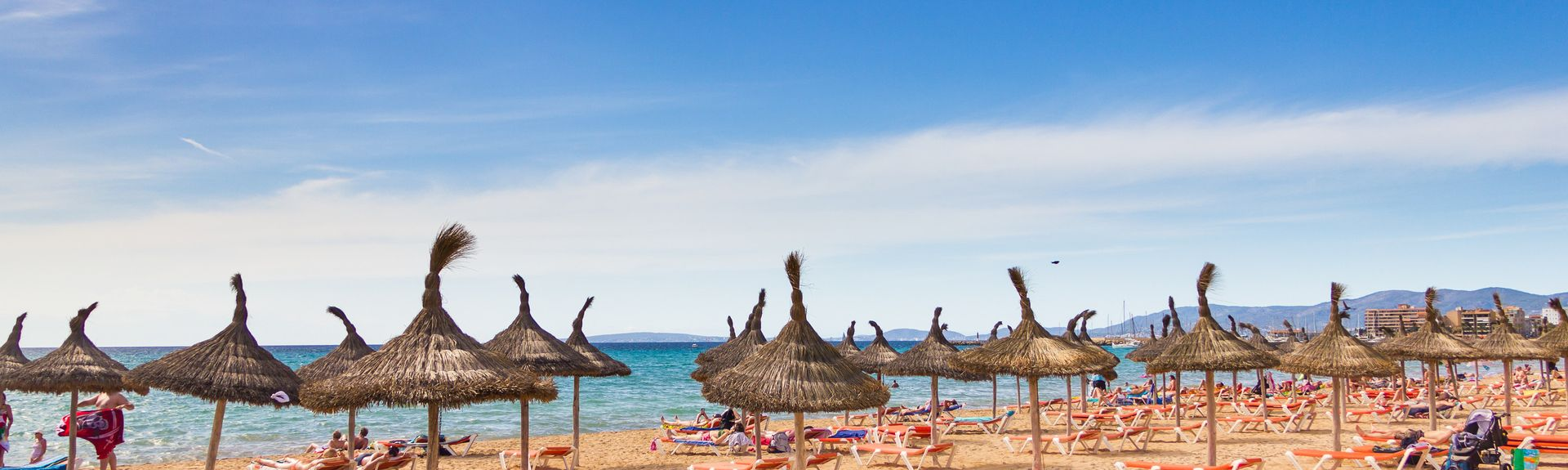 Platja de Palma, Palma, Balearic Islands, Spain