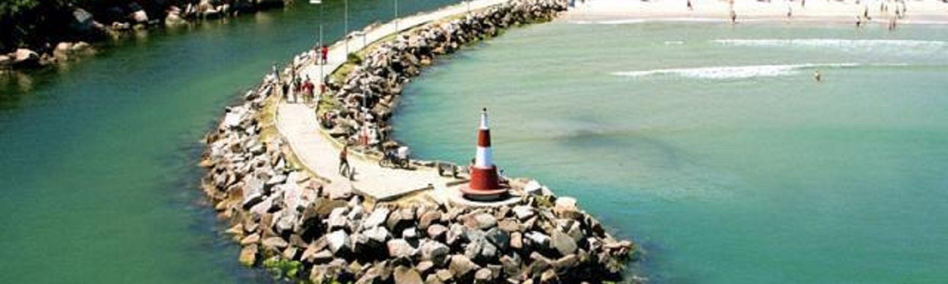 Praia das Galhetas, Florianópolis, Região Sul, Brasil
