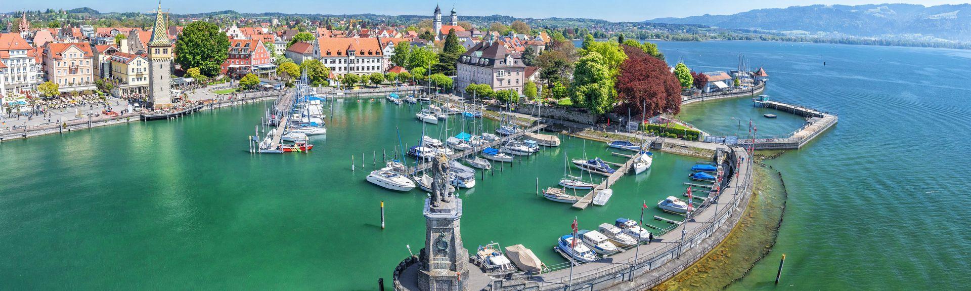 Lake Constance Promenade, Friedrichshafen, Germany