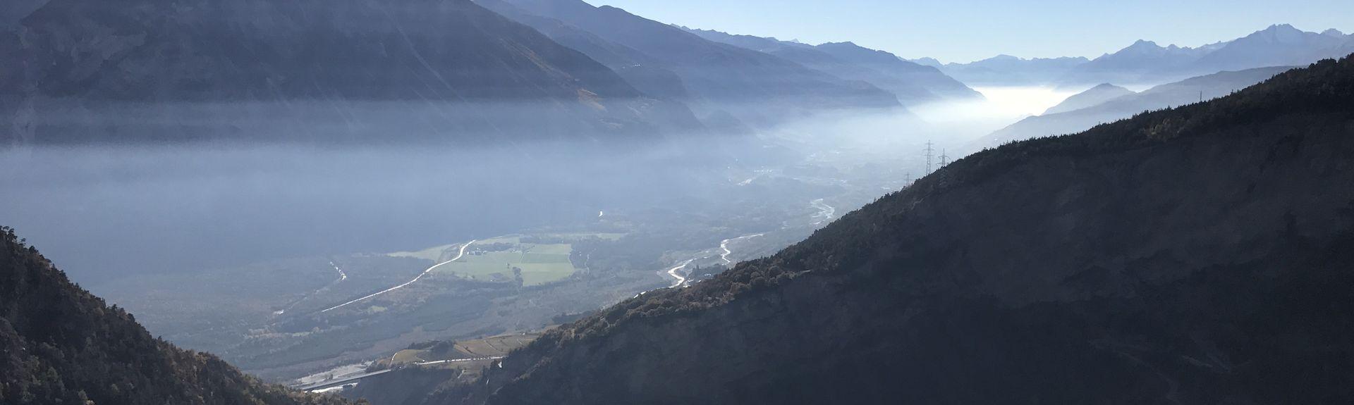 Ośrodek narciarski Lauchernalp, Wiler, Wallis, Szwajcaria