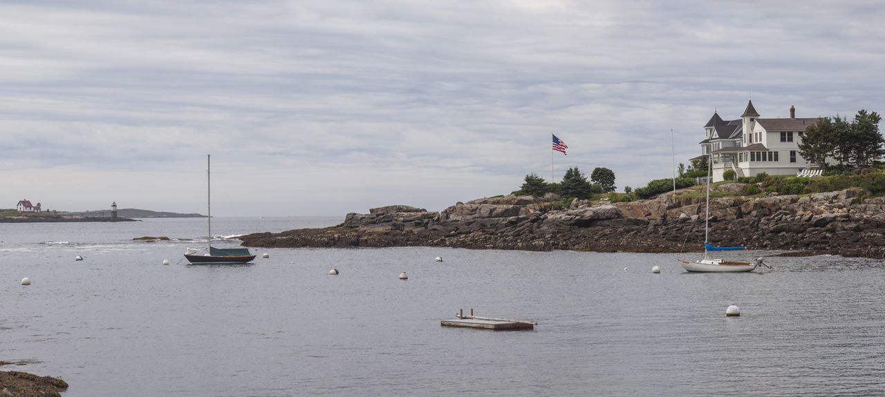 Ocean Point, Boothbay, ME, USA
