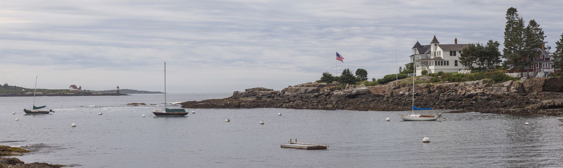 Ocean Point, East Boothbay, Maine, USA