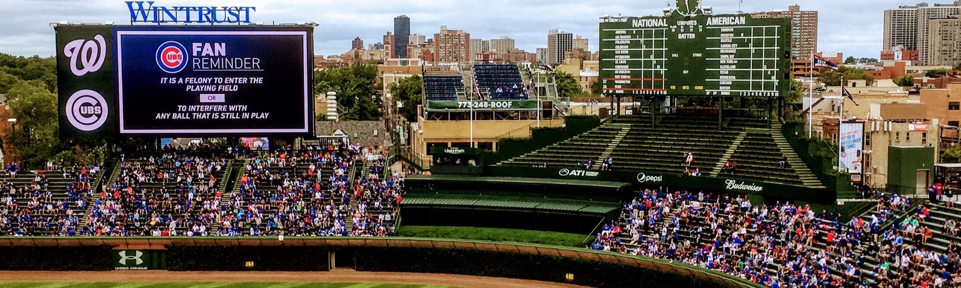 Wrigley Field, Chicago, Illinois, United States of America