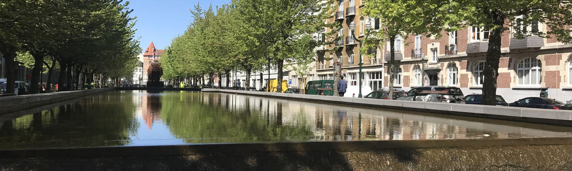 Quartier des Quais, Bruxelles, Région de Bruxelles-Capitale, Belgique