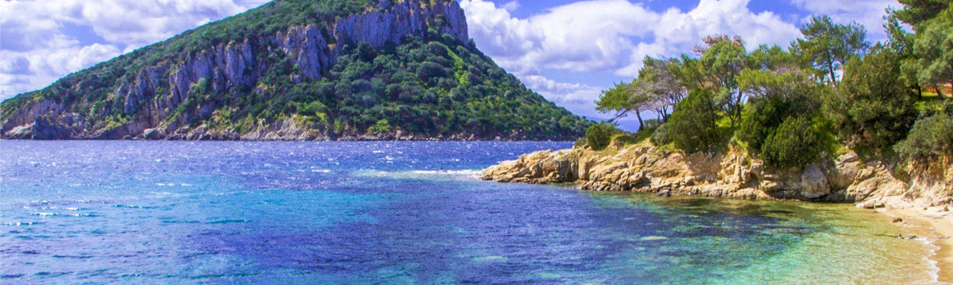 Baia Caddinas, Golfo Aranci, Sardinien, Italien
