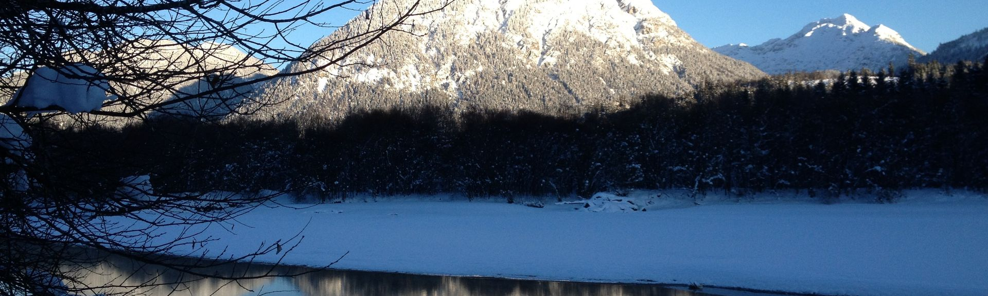 Ehrwalder Alm, Ehrwald, Tirol, Oostenrijk