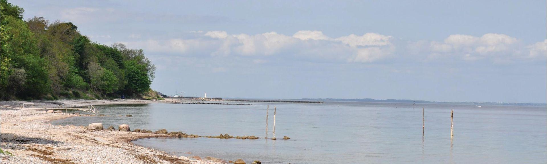 Mommark Strand, Sydals, Syddanmark, Dinamarca