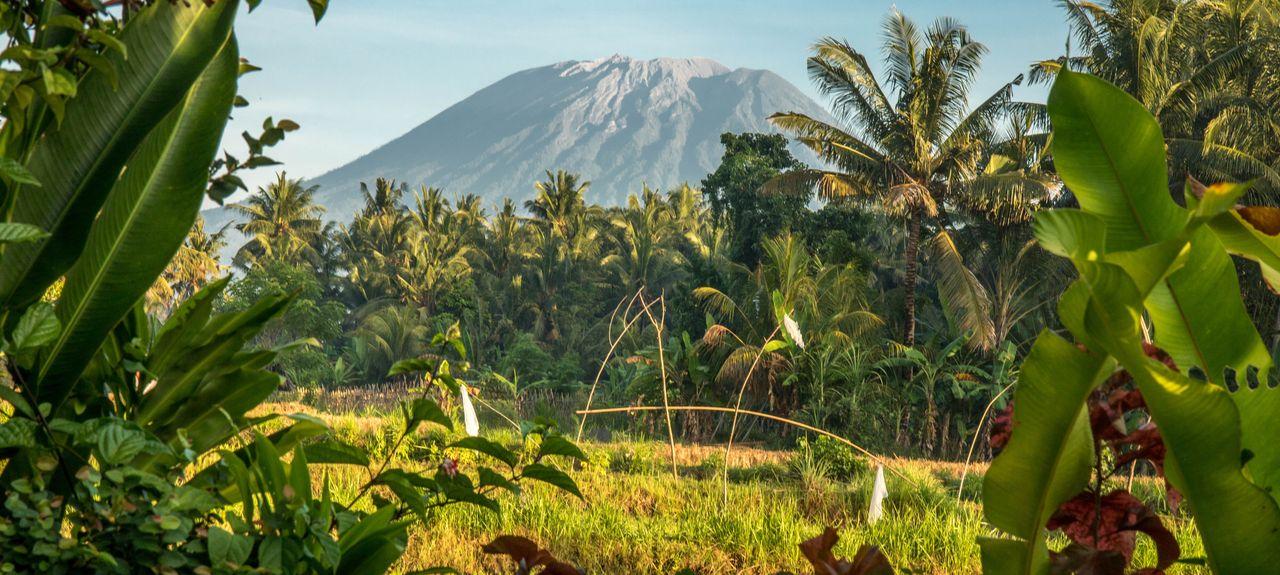 Candidasa, Bali, Indonésie