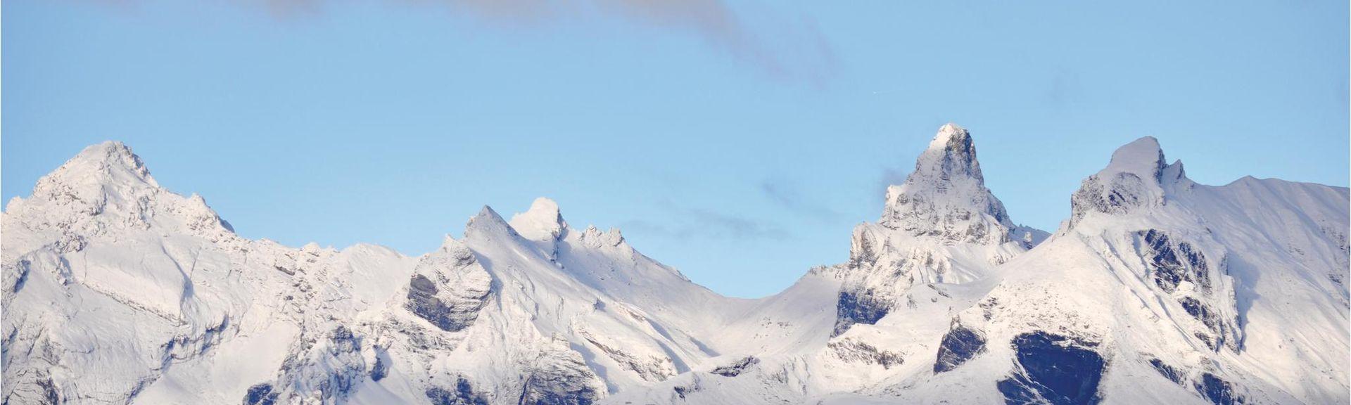 Chamoson, Wallis, Schweiz