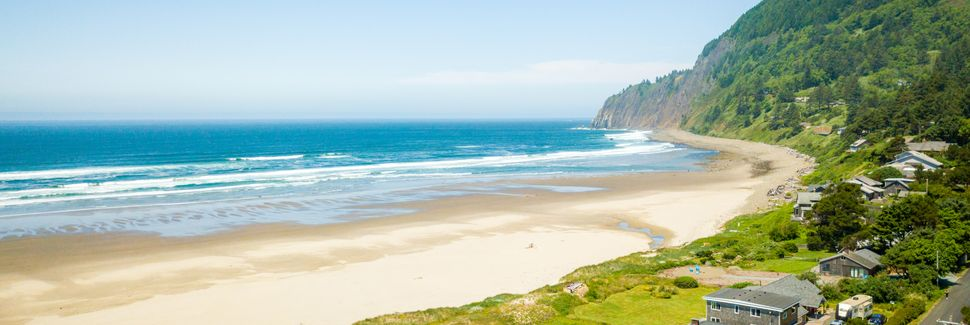 Nedonna Beach, Rockaway Beach, Oregon, USA