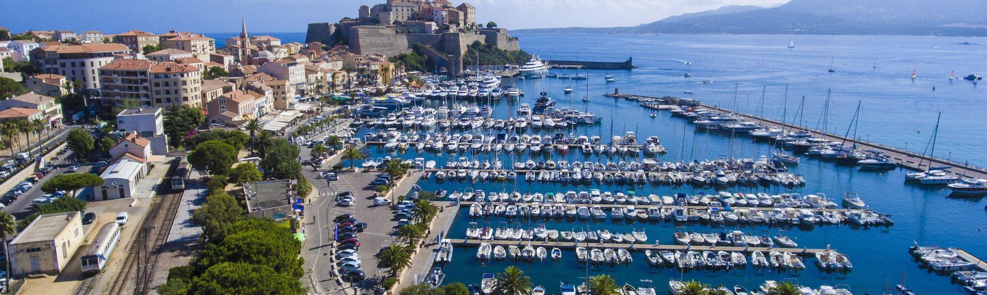 Haven van Calvi, Calvi, Corsica, Frankrijk