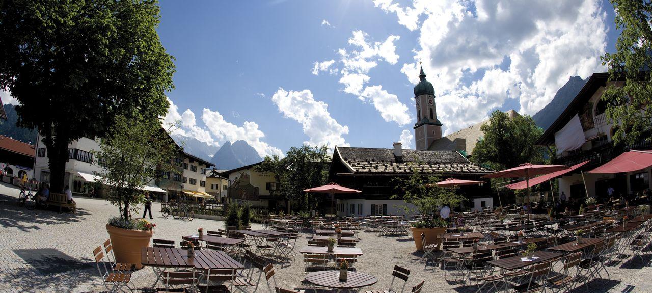 Garmisch-Partenkirchen, Bayern, Deutschland