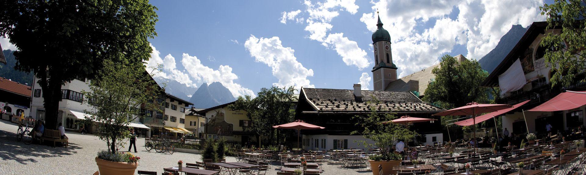 Garmisch-Partenkirchen, Beieren, Duitsland