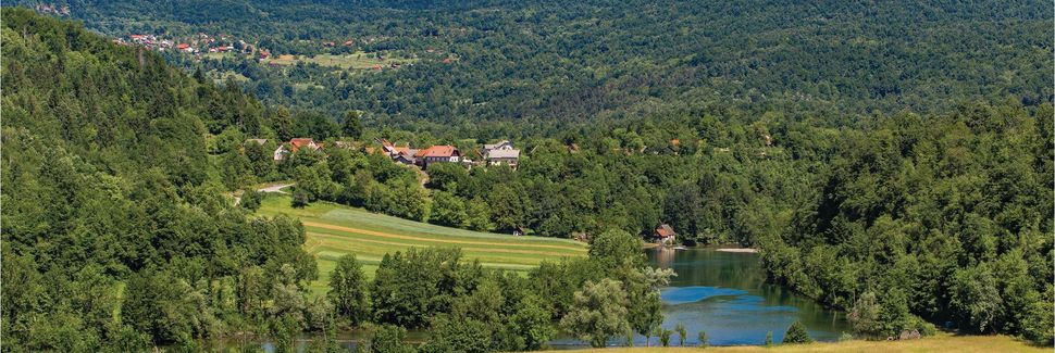 Općina Ogulin, Comitat de Karlovac, Croatie