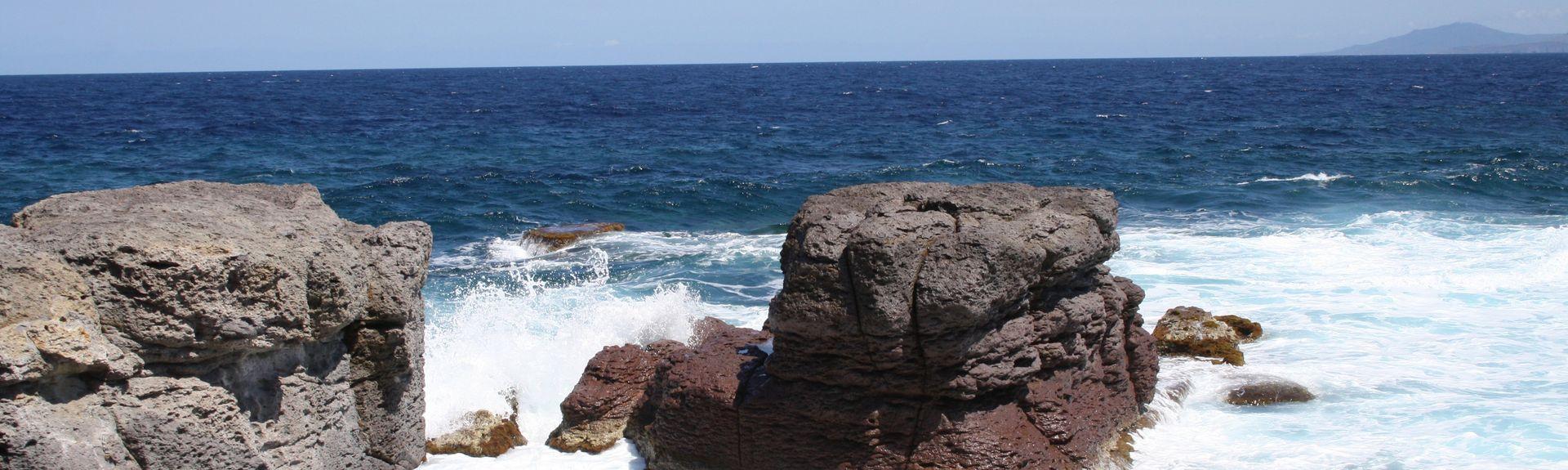 Strand von Tuerredda, Teulada, Sardinien, Italien