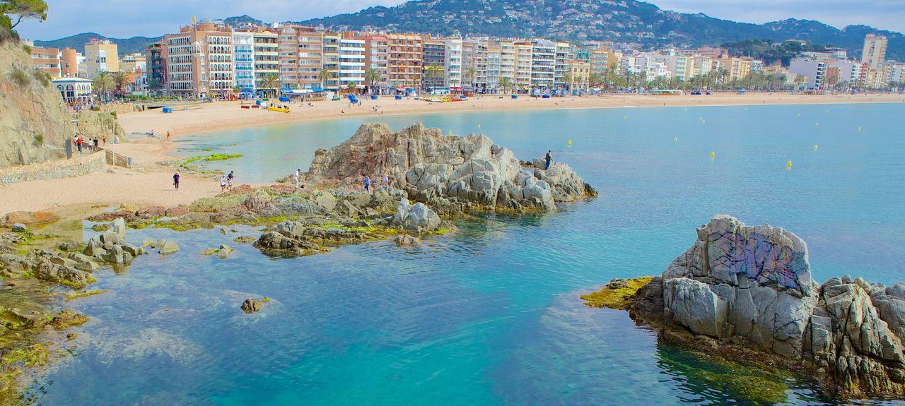 Malgrat de Mar, Maresme, Barcelona, Catalonia, Spain