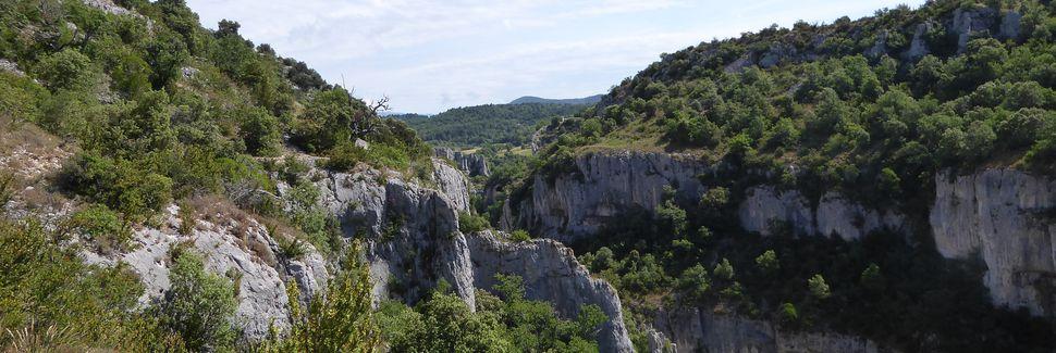 Simiane-la-Rotonde, Provence-Alpes-Côte d'Azur, Frankrig